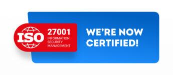 Fluix is now ISO 27001 certified