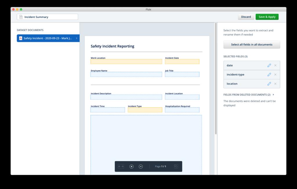 dataset customizing