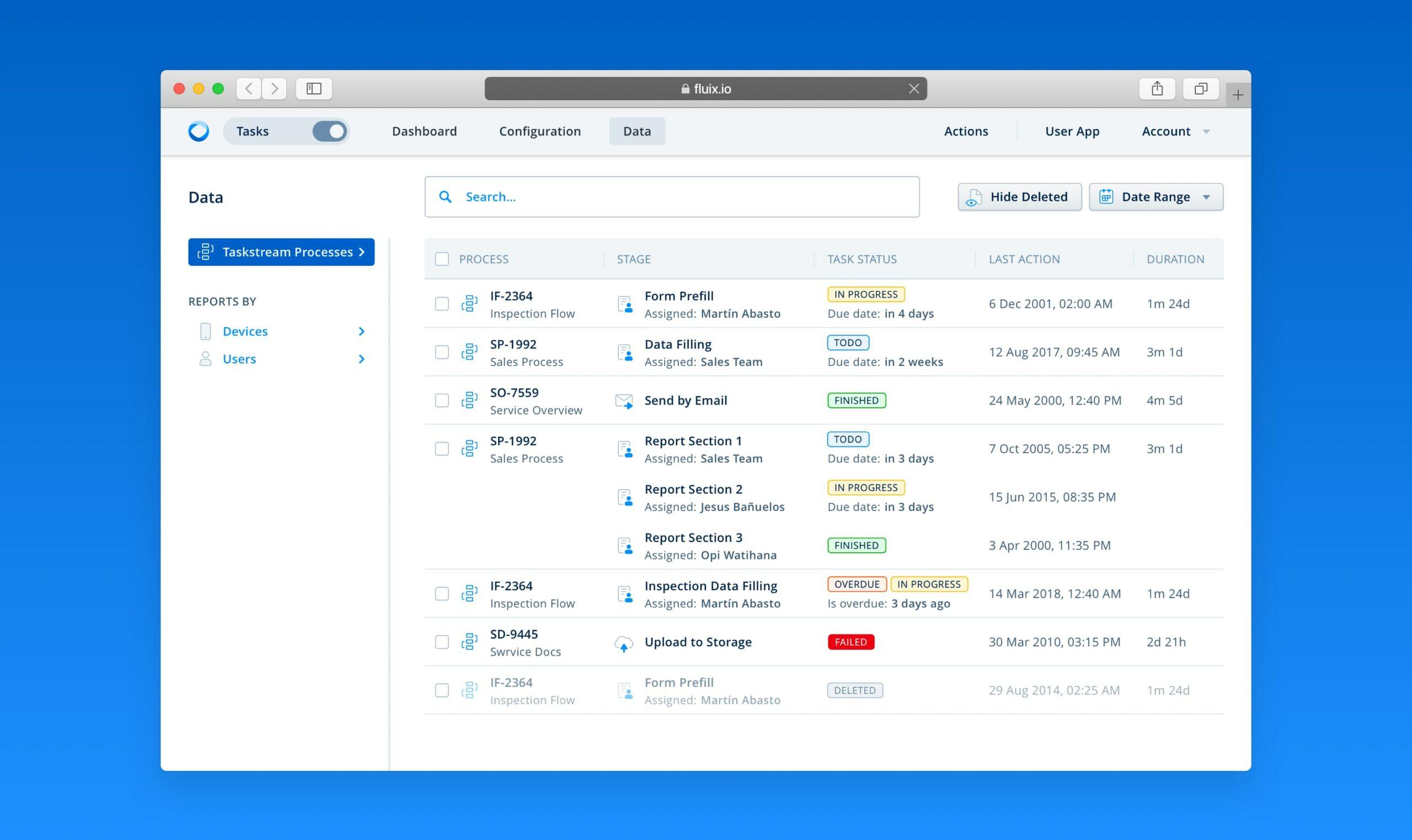 TaskStream-for-tasks-management-admin-interface
